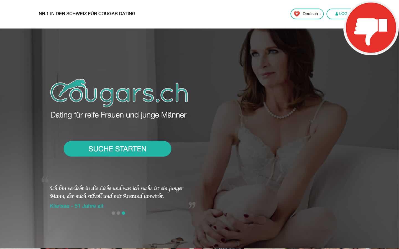 Cougars.ch Erfahrungen Abzocke