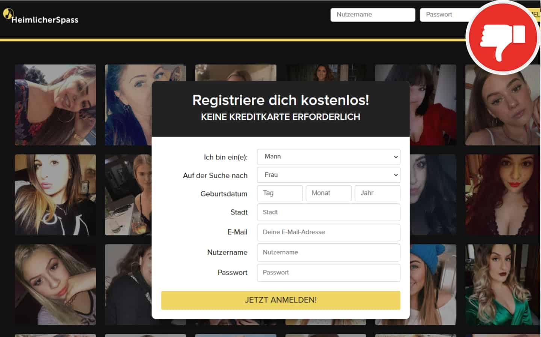 HeimlicherSpass.com Erfahrungen Abzocke