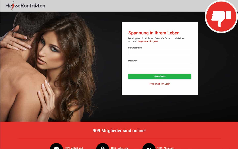 HeisseKontakten.com Erfahrungen Abzocke