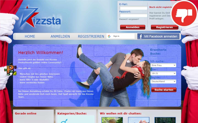 Kizzsta.de Erfahrungen Abzocke