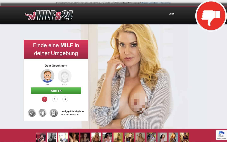 Milfs24.com Erfahrungen Abzocke