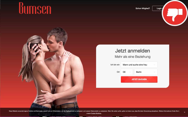 Bumsen.com Erfahrungen Abzocke