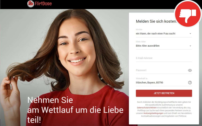 FlirtDose.com Erfahrungen Abzocke