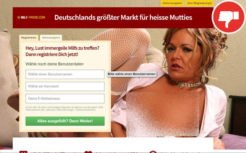 Milf-Friend.com Erfahrungen Abzocke