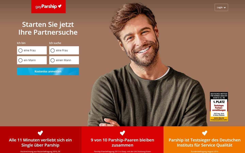 Testsieger: GayParship - Gay & Lesben