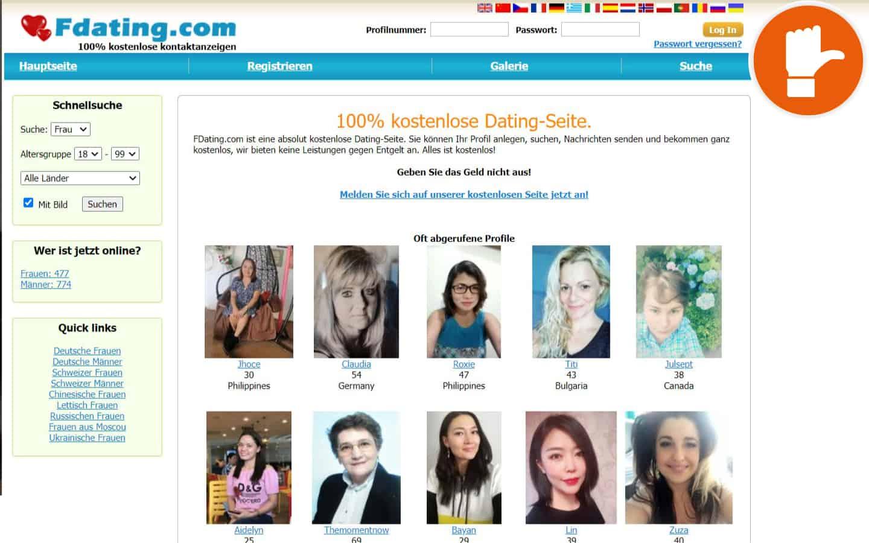 FDating.com Erfahrungen Abzocke