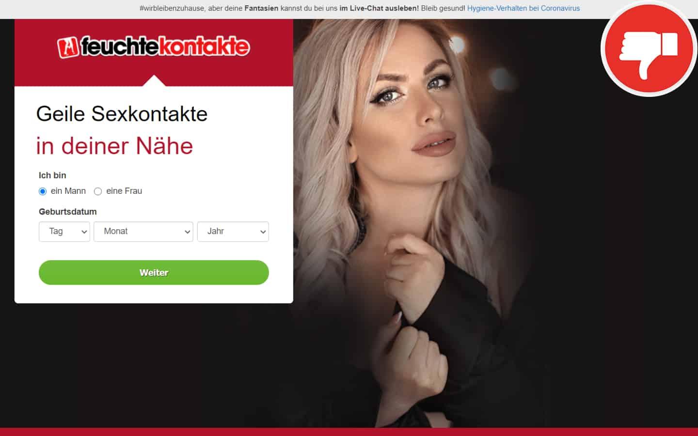 Feuchte-Kontakte.com Erfahrungen Abzocke