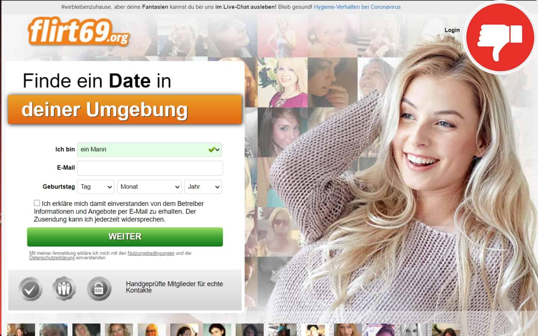 Flirt69.org Erfahrungen Abzocke