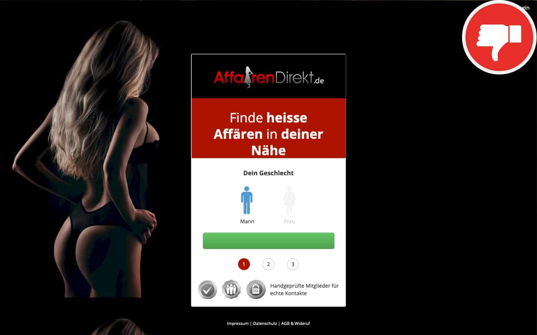 AffairenDirekt.de Erfahrungen Abzocke