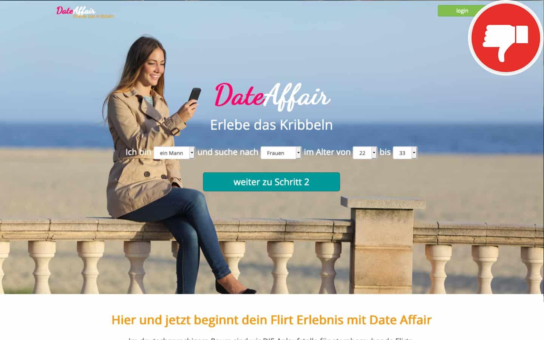 Date-Affair.com Erfahrungen Abzocke