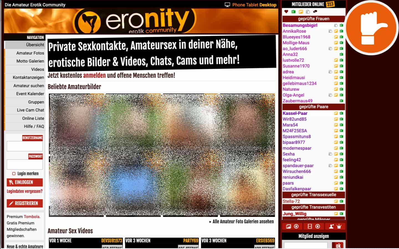 Eronity.com Erfahrungen Abzocke