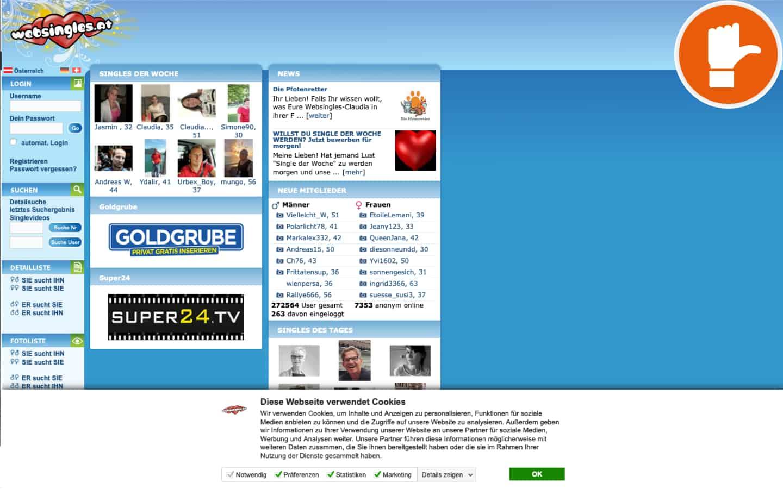WebSingles.at Erfahrungen Abzocke