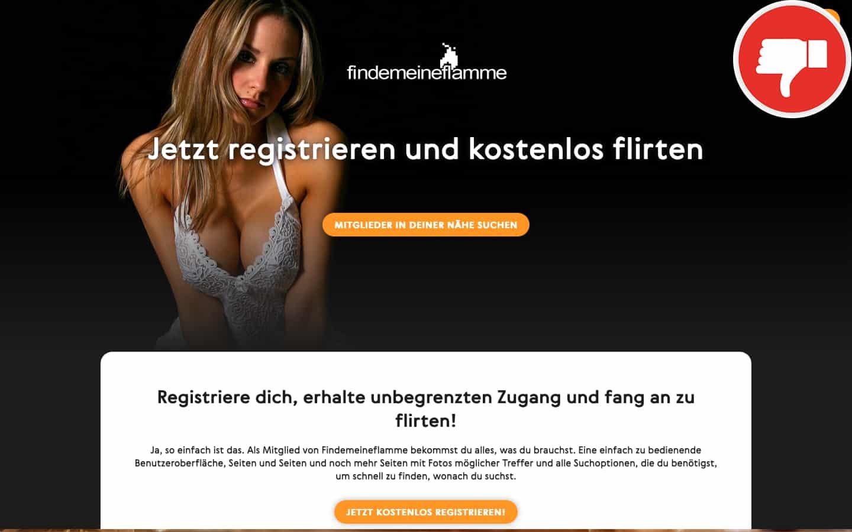 FindeMeineFlamme.com Erfahrungen Abzocke