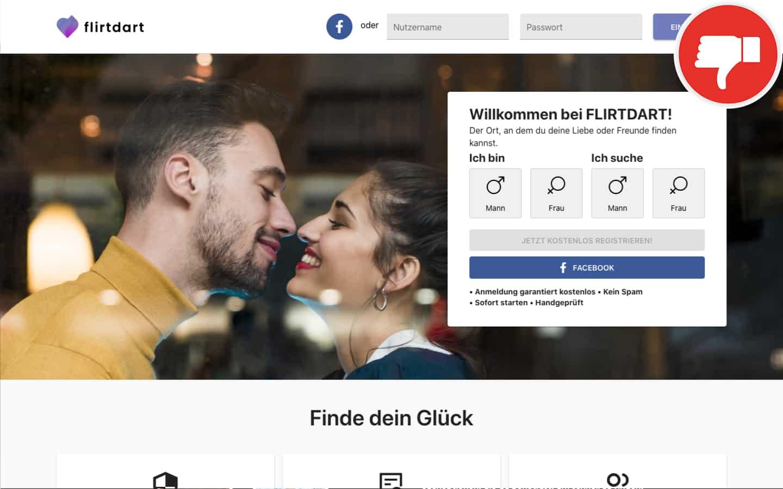 FlirtDart.com Erfahrungen Abzocke