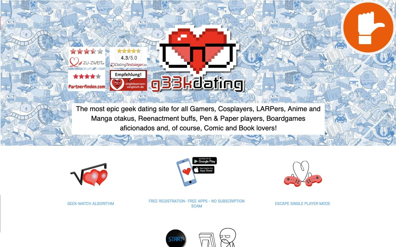 G33KDating.com Erfahrungen Abzocke