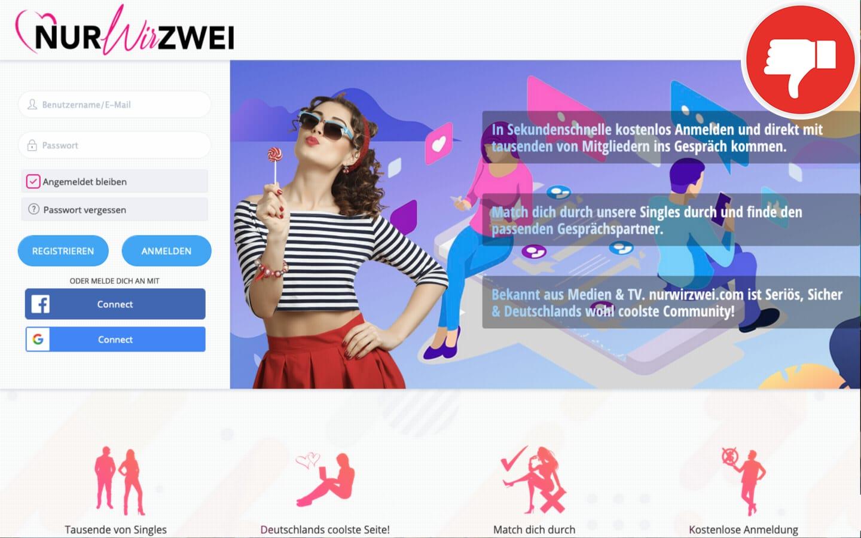 NurWirZwei.com Erfahrungen Abzocke