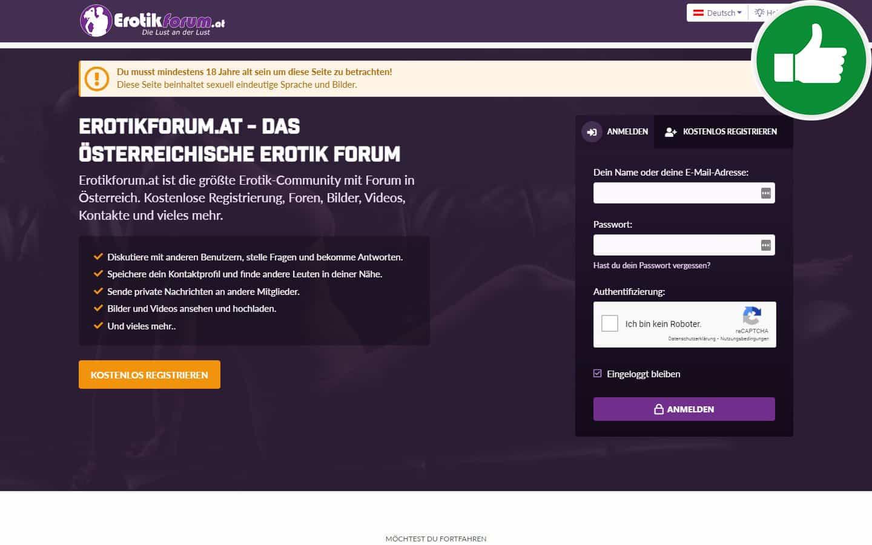 ErotikForum.at Erfahrungen Abzocke