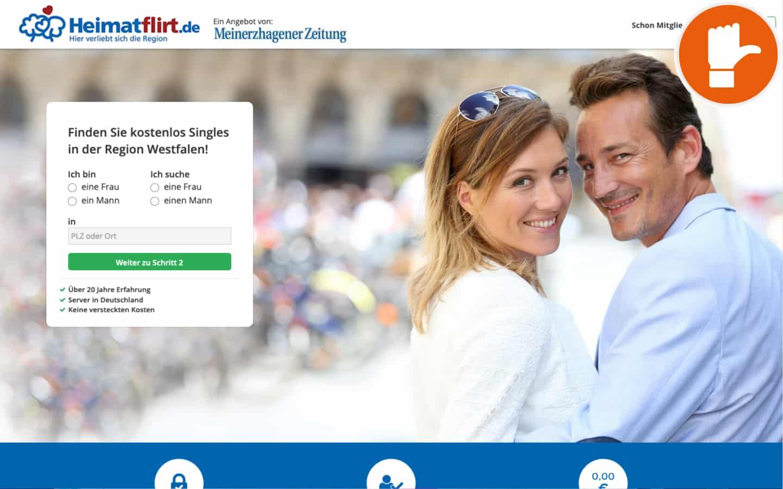 HeimatFlirt.de Erfahrungen Abzocke