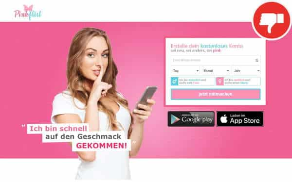 Testbericht - PinkFlirt.de Abzocke