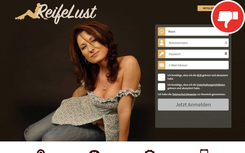 Testbericht - ReifeLust.com Abzocke