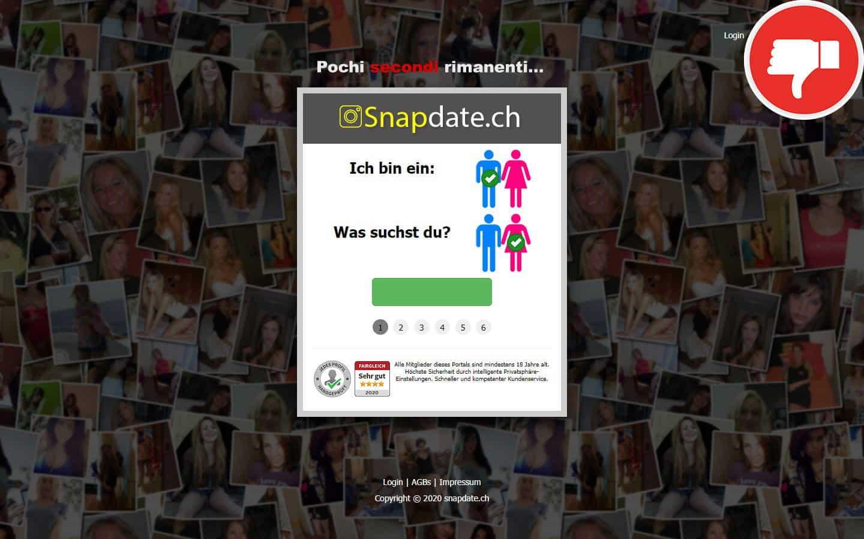 Testbericht - SnapDate.ch Abzocke