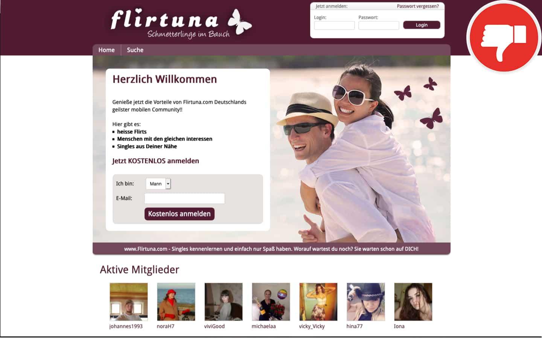 Flirtuna.com Erfahrungen Abzocke
