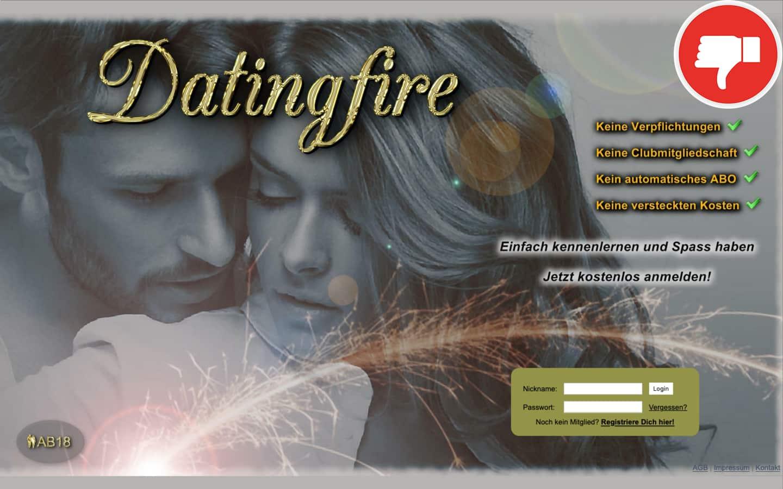 DatingFire.de Erfahrungen Abzocke