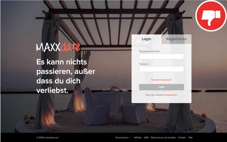 MaxxDate.com Erfahrungen Abzocke