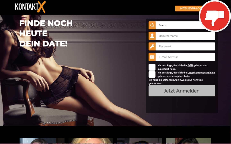 Kontakt-X.com Erfahrungen Abzocke