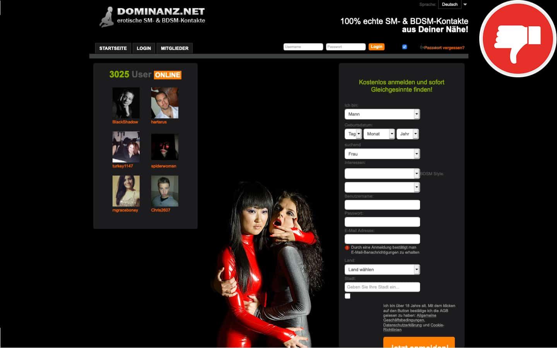 Dominanz.net Erfahrungen Abzocke