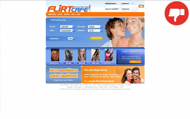 FlirtCafe.de Erfahrungen Abzocke