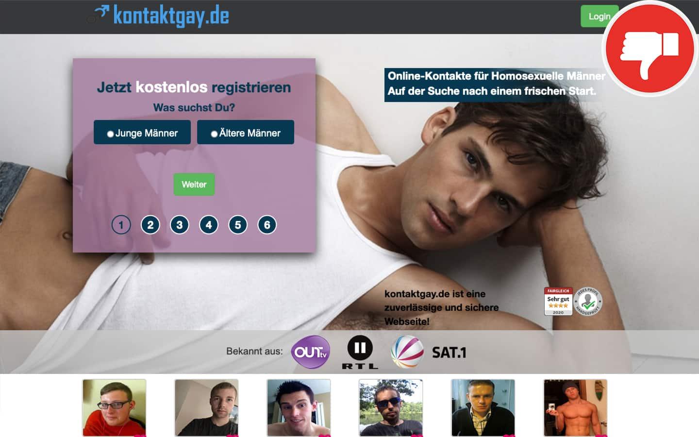 KontaktGay.de Erfahrungen Abzocke