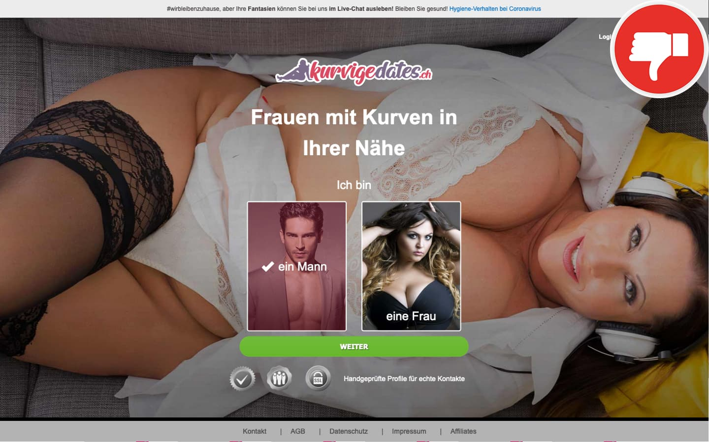 KurvigeDates.ch Erfahrungen Abzocke
