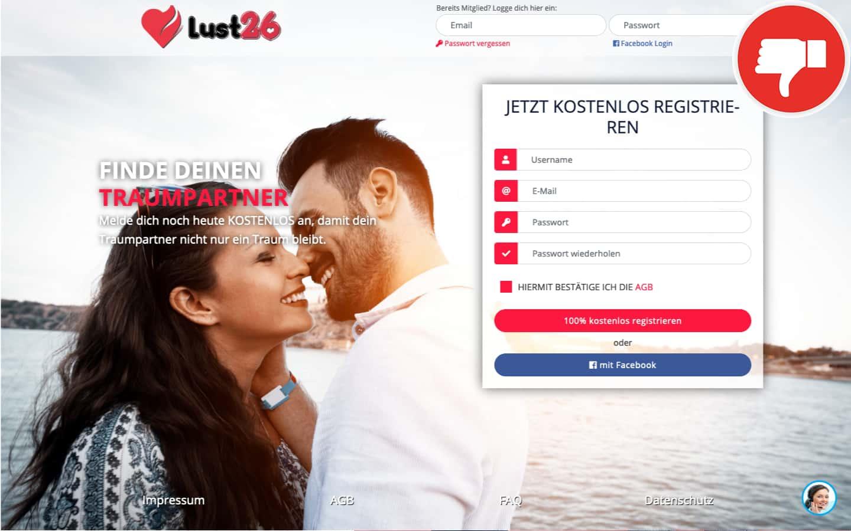 Lust26.de Erfahrungen Abzocke