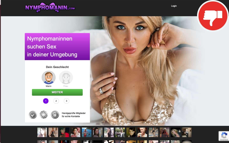 Nymphomanin.com Erfahrungen Abzocke