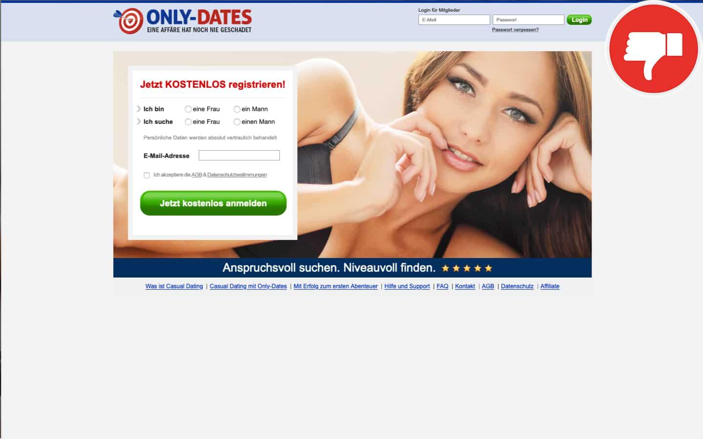 Only-Dates.de Erfahrungen Abzocke