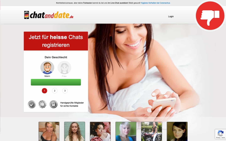 Testbericht ChatAndDate.de Abzocke