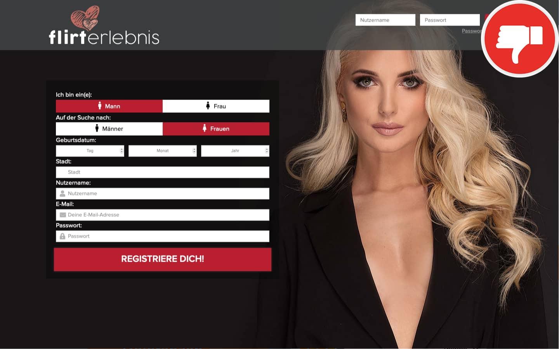 FlirtErlebnis.com Erfahrungen Abzocke