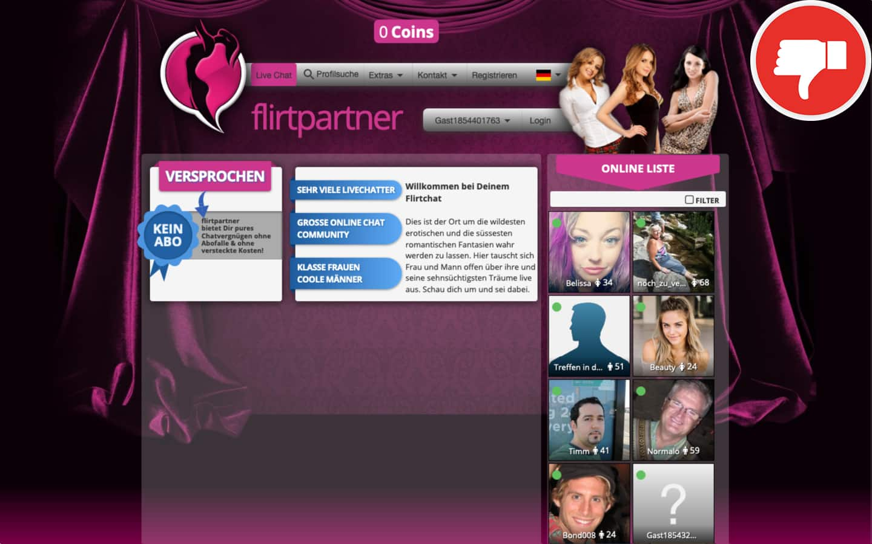 FlirtPartner.org Erfahrungen Abzocke