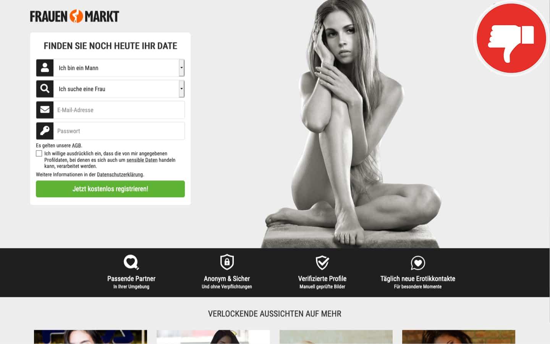 Testbericht FrauenMarkt.net Abzocke
