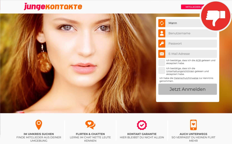 Testbericht JungeKontakte.com Abzocke