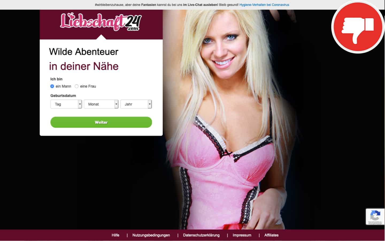 Testbericht Liebschaft24.com Abzocke