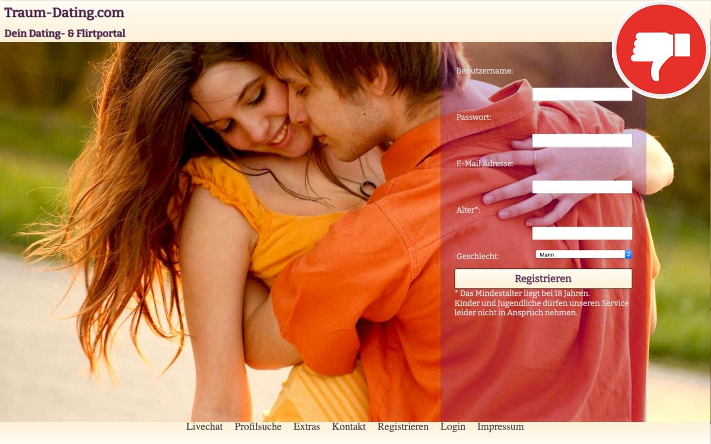 Testbericht Traum-Dating.com Abzocke