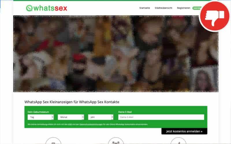 Testbericht WhatsSex.rocks Abzocke