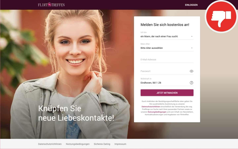 FlirtTreffen.com Erfahrungen Abzocke