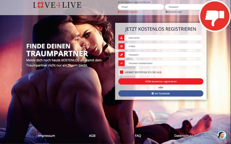 Testbericht Love4Lives.com Erfahrungen Abzocke