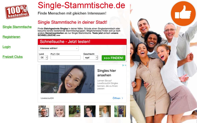 Single-Stammtische.de Erfahrungen Abzocke