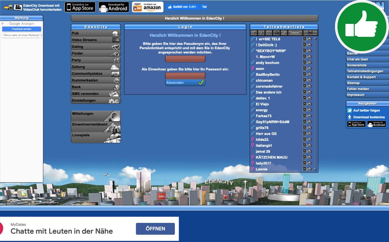 Testbericht EdenCity.de Abzocke