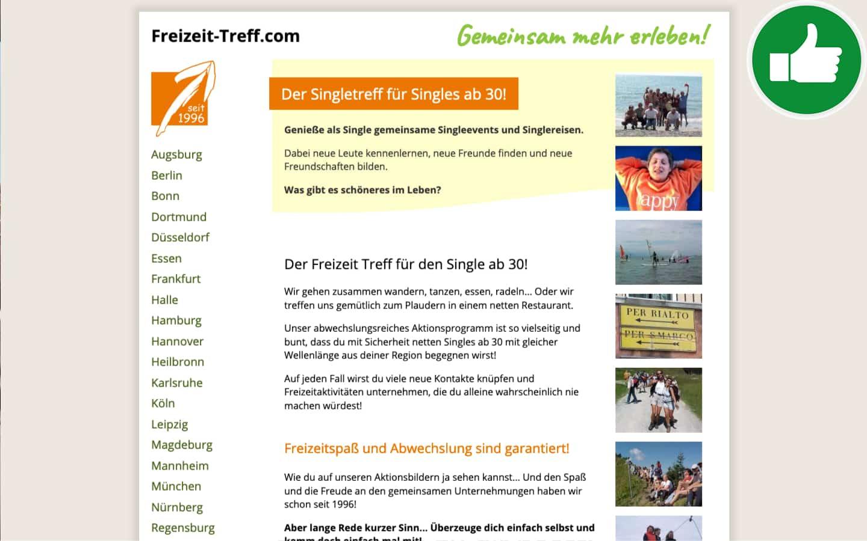 Freizeit-Treff.com Erfahrungen Abzocke