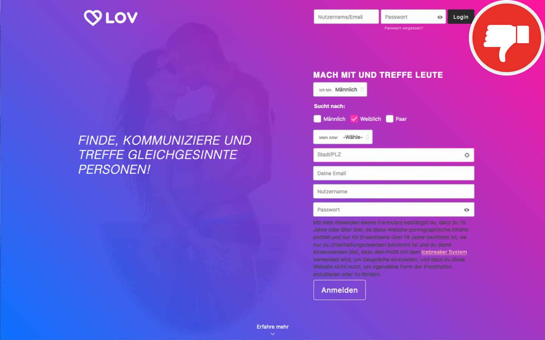 Lov.dating Erfahrungen Abzocke